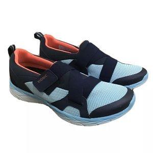 Vionic Dash blue navy slip on sneaker 8.5